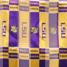 Louisiana State Tigers LSU Polyester Scarfs  (12 Pack)