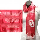 Oklahoma Sooners Ncaa Musical Fight Song Scarf