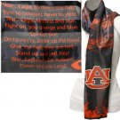 Auburn Tigers Ncaa Musical Fight Song Scarf