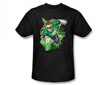 DC Comics Green Lantern Hal Jordan Men's Black Adult Shirt