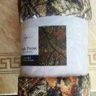 Mainstays Camo Plush Throw Blanket