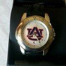 Auburn Tigers Sport Leather Band Watch