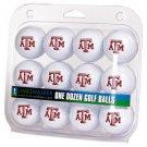 Texas A&M Aggies Dozen 12 Pack Golf Balls