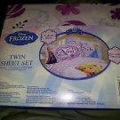 Disneys Frozen Anna Elsa Olaf Twin/Single Size Comforter Sheet Set
