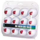Wisconsin Badgers Dozen 12 Pack Golf Balls