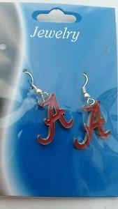 Alabama Crimson Tide Ncaa Licensed dangle Earrings