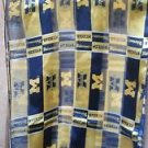 Michigan Wolverines Licensed Ncaa Polyester Scarf