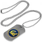 California Bears Dog Tag with a embedded collegiate medallion