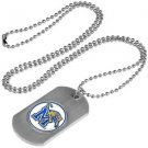 Memphis Tigers Dog Tag with a embedded collegiate medallion