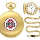 Ohio State Buckeyes Officially Licensed Gold Pocket Watch