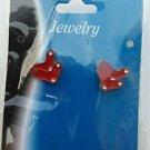 Boston Red Sox Stud Earrings