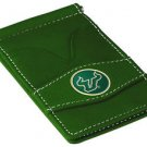 USF South Florida Bulls Green Officially Licensed Players Wallet