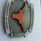 Texas Longhorns Ncaa Logo Belt Buckle