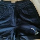 Guy Harvey Large Mouth Bass Cotton Sport Shorts, Small ( Blue)