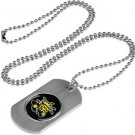Wichita State Shockers Dog Tag with a embedded collegiate medallion
