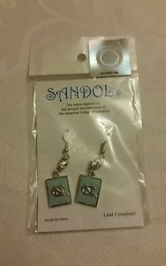 North Carolina Tarheels Ncaa Licensed dangle Earrings