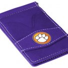 Clemson Tigers Purple Officially Licensed Players Wallet