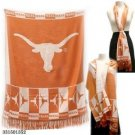 Texans Longhorns Officially Licensed Ncaa Shawl Scarf