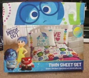 Disneys Inside Out Twin/Single Size Sheet Set