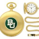 Baylor Bears Officially Licensed Gold Pocket Watch