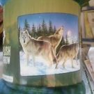 Wolves Wolf in the Wild American Heritage Woodland Royal Plush Raschel blanket