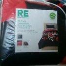 Room Essentials XL Floral Twin Reversible College Student Dorm Room Bedding Set