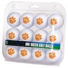 Clemson Tigers Dozen 12 Pack Golf Balls
