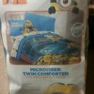 Minions Despicable Me Twin/Single Size Comforter Sheet Set