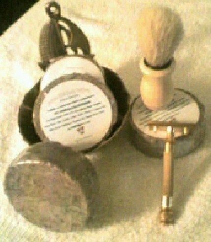 "Arabian Spice Shaving Body Soap Handmade 3"" round bar 4 oz"