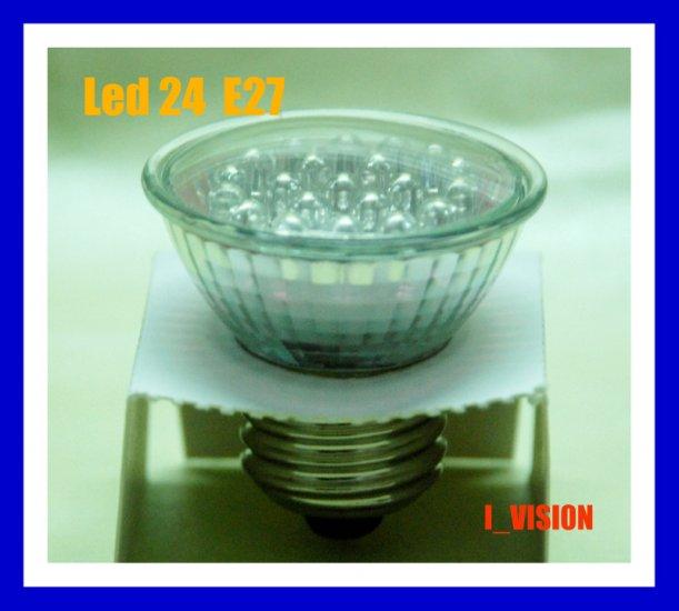 6 x LED 24 LIGHT BULB 1.5W E27