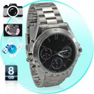 Spy Camera Watch - All-Metal Watch With 8GB Memory