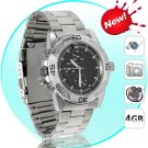 Spy Watch - 30FPS Camcorder DVR Watch (Stainless Steel)