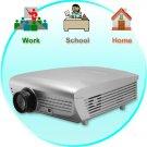 Multimedia LCD Projector (VGA, AV, TV, 5 inch LCD)
