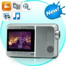 Multimedia LED Projector and MP4 Player with 2.4 Inch LCD Screen