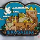Israel 3D Magnet Jerusalem Cityscape