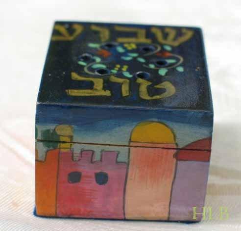 Havdalah Spice Box - Yair Emanuel's  'Shavua Tov''  (A Good Week)
