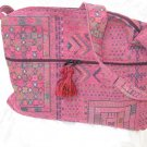 Asil -  Ethnic Woven Pink Shoulder Tote / Handbag