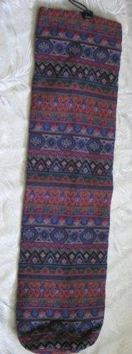 Shofar Bag  Ethnic Woven Fabric Purple  Medium Size -- M4