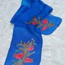 Yair Emanuel Silk Scarf Pomegranate Design