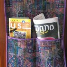 Woven Magazine Wall Hanger  Holder D9