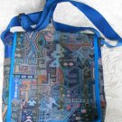 Woven Fabric Men & Women's iPad Tote Handbag Sling D17