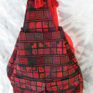 XL Ethnic Woven Backpack 3 Pockets Shoulder Tote Bag U4R