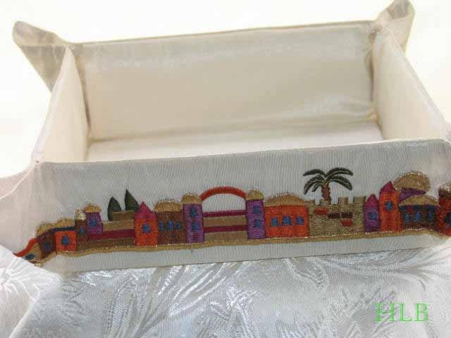 Matzah Tray With Jerusalem Design MB-1