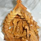 Medium Olive Wood Nativity Scene from Bethlehem II