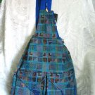 Ethnic Woven Backpack 3 Pockets Shoulder Tote U2L
