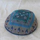 Ethnic Fabric Druze Woven Kippa Kippot Judaica Israel M2L