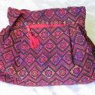 Shoulder Tote Handbag Tote Sling Multi Color Ethnic Druze Anter Nardin EB6