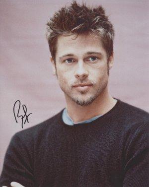 Brad Pitt Autograph Original Hand Signed 8x10 Autographed Photo