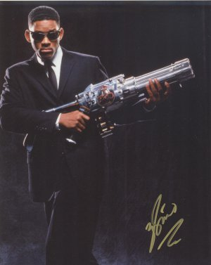 Will Smith Men In Black Autograph Original Hand Signed 8x10 Autographed Photo