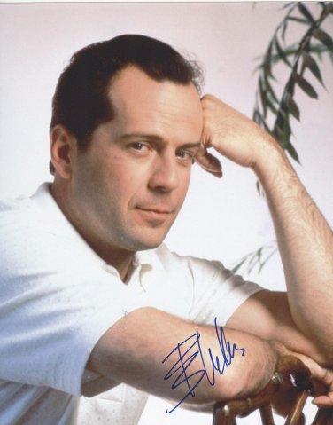 Bruce Willis Autographed Original Hand Signed 8x10 Photo